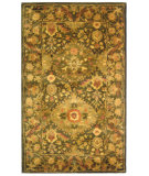 RugStudio presents Safavieh Antiquities AT57C Olive Hand-Tufted, Best Quality Area Rug