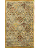 RugStudio presents Safavieh Antiquities At613a Light Blue / Gold Hand-Tufted, Better Quality Area Rug