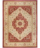 RugStudio presents Safavieh Austin AUS1580-1140 Creme / Red Machine Woven, Good Quality Area Rug