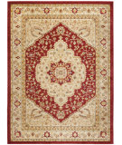 RugStudio presents Safavieh Austin AUS1580-4011 Red / Creme Machine Woven, Good Quality Area Rug