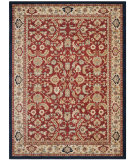 RugStudio presents Safavieh Austin AUS1600-4011 Red / Creme Machine Woven, Good Quality Area Rug