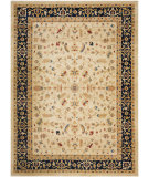 RugStudio presents Safavieh Austin AUS1610-1170 Cream / Navy Machine Woven, Good Quality Area Rug