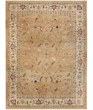 RugStudio presents Safavieh Austin AUS1610-1411 Dark Beig / Cream Machine Woven, Good Quality Area Rug