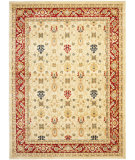 RugStudio presents Safavieh Austin AUS1620-1140 Creme / Red Machine Woven, Good Quality Area Rug