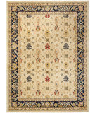 RugStudio presents Rugstudio Sample Sale 80364R Cream / Navy Machine Woven, Good Quality Area Rug