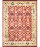 RugStudio presents Safavieh Austin AUS1620-4011 Red / Creme Machine Woven, Good Quality Area Rug