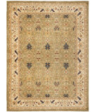 RugStudio presents Safavieh Austin AUS1620-5211 Green / Creme Machine Woven, Good Quality Area Rug