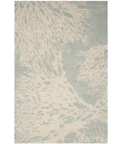 RugStudio presents Safavieh Bella Bel115d Grey / Ivory Hand-Tufted, Better Quality Area Rug