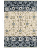 RugStudio presents Safavieh Bella Bel119a Ivory - Blue Hand-Tufted, Best Quality Area Rug