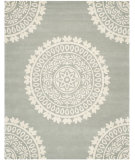 RugStudio presents Safavieh Bella BEL122A Grey / Ivory Area Rug