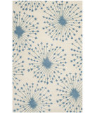 RugStudio presents Safavieh Bella Bel123b Beige / Blue Hand-Tufted, Better Quality Area Rug