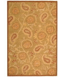RugStudio presents Safavieh Berkeley BK305C Camel Hand-Hooked Area Rug