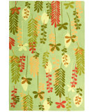 RugStudio presents Safavieh Berkeley BK367A Light Blue / Green Hand-Hooked Area Rug