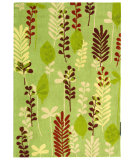 RugStudio presents Safavieh Berkeley BK367C Fern / Ivory Hand-Hooked Area Rug