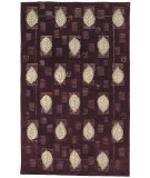 RugStudio presents Safavieh Berkeley BK46C Eggplant Hand-Tufted, Better Quality Area Rug