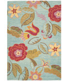 RugStudio presents Safavieh Blossom Blm675a Blue / Multi Hand-Hooked Area Rug