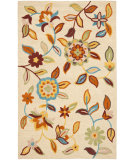 RugStudio presents Rugstudio Sample Sale 63108R Beige / Multi Hand-Hooked Area Rug