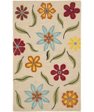 RugStudio presents Safavieh Blossom Blm678a Beige / Multi Hand-Hooked Area Rug