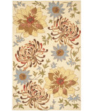 RugStudio presents Safavieh Blossom Blm732a Beige / Multi Hand-Hooked Area Rug
