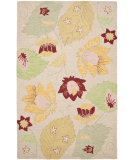 RugStudio presents Safavieh Blossom Blm786a Ivory / Multi Hand-Hooked Area Rug