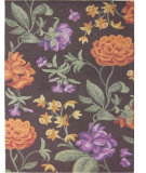 RugStudio presents Safavieh Blossom BLM788A Brown / Multi Hand-Hooked Area Rug