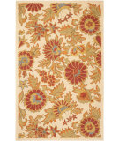 RugStudio presents Rugstudio Sample Sale 61169R Ivory / Multi Hand-Hooked Area Rug