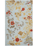 RugStudio presents Safavieh Blossom Blm919b Blue / Multi Hand-Hooked Area Rug