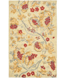 RugStudio presents Safavieh Blossom Blm922a Beige / Multi Hand-Hooked Area Rug
