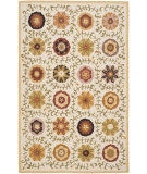 RugStudio presents Safavieh Blossom Blm951a Ivory / Multi Hand-Hooked Area Rug