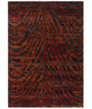 RugStudio presents Safavieh Bohemian BOH224B Red / Black Woven Area Rug