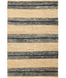 RugStudio presents Safavieh Bohemian Boh227a Natural / Blue Woven Area Rug