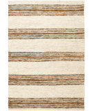 RugStudio presents Safavieh Bohemian Boh227b Natural / Rust Woven Area Rug