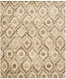 RugStudio presents Safavieh Bohemian Boh633b Bleach / Brown Sisal/Seagrass/Jute Area Rug