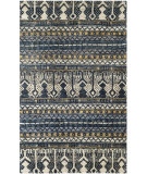 RugStudio presents Rugstudio Sample Sale 107873R Blue Hand-Knotted, Better Quality Area Rug