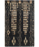 RugStudio presents Safavieh Bohemian Boh664a Black - Beige Hand-Knotted, Better Quality Area Rug