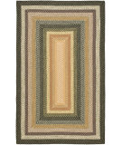 RugStudio presents Safavieh Braided BRD308A Blue / Multi Braided Area Rug