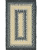 RugStudio presents Safavieh Braided BRD311A Black / Grey Braided Area Rug