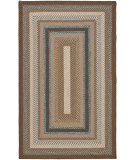 RugStudio presents Safavieh Braided BRD313A Brown / Multi Braided Area Rug