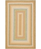 RugStudio presents Safavieh Braided BRD314A Tan / Multi Braided Area Rug