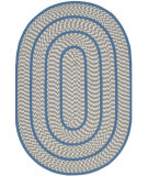 RugStudio presents Safavieh Braided Brd401a Ivory / Blue Braided Area Rug