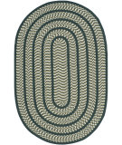 RugStudio presents Safavieh Braided Brd401b Ivory / Dark Green Braided Area Rug