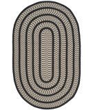 RugStudio presents Safavieh Braided Brd401c Ivory / Black Braided Area Rug