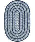 RugStudio presents Safavieh Braided Brd401d Ivory / Navy Braided Area Rug