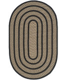 RugStudio presents Safavieh Braided Brd401g Beige / Black Braided Area Rug