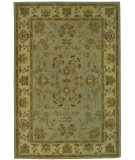 RugStudio presents Safavieh Bergama BRG135C Light Blue / Ivory Hand-Tufted, Best Quality Area Rug