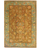 RugStudio presents Safavieh Bergama BRG161A Brown / Blue Hand-Tufted, Best Quality Area Rug