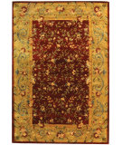 RugStudio presents Safavieh Bergama BRG164A Red / Dark Beig Hand-Tufted, Best Quality Area Rug