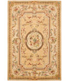 RugStudio presents Safavieh Bergama BRG168A Light Gold / Beige Hand-Tufted, Best Quality Area Rug