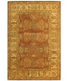 RugStudio presents Safavieh Bergama BRG190A Light Brown / Beige Hand-Tufted, Best Quality Area Rug