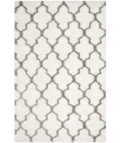 RugStudio presents Safavieh Barcelona Shag Bsg319a White / Silver Area Rug